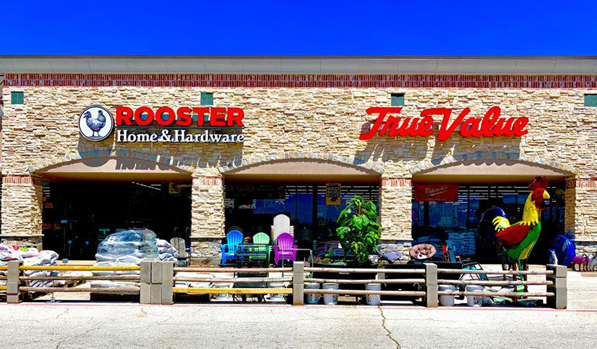 Rooster Home & Hardware in Dallas combines a traditional hardware store with an urban homesteading/garden center.