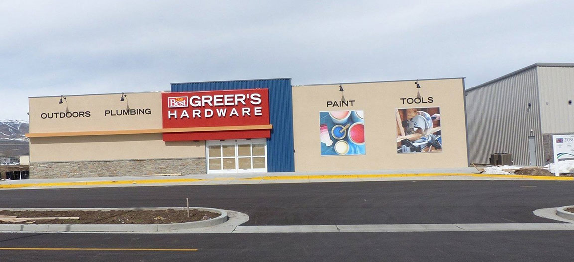 Greer's Do it Best Hardware, which was founded in 1976, has a niche in motorcycle parts and accessories.