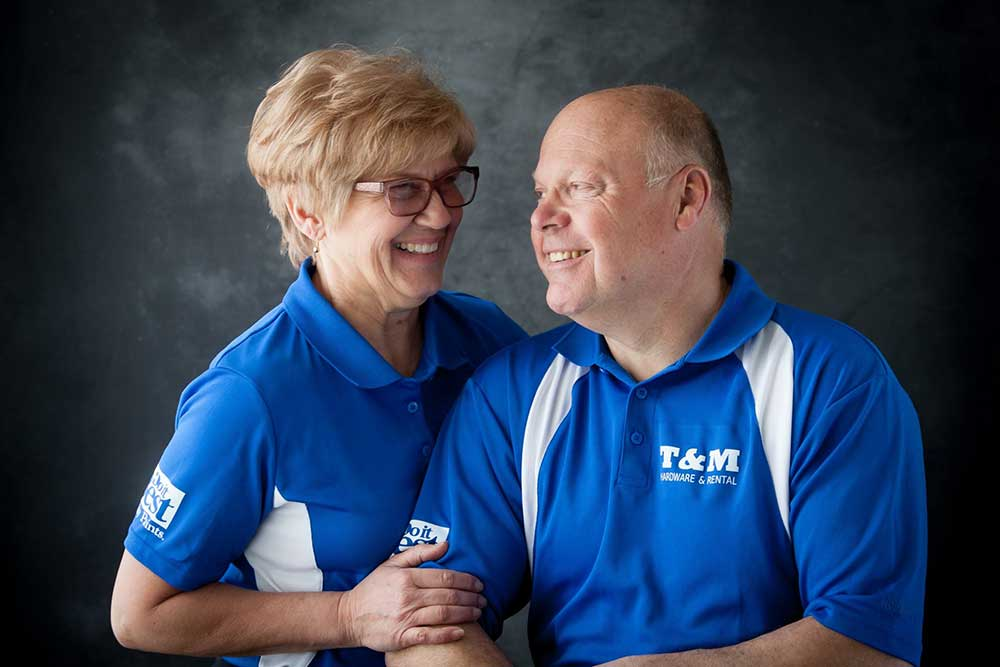 Tim and Mary Post have built a successful chain of hardware stores by working well as supportive partners.