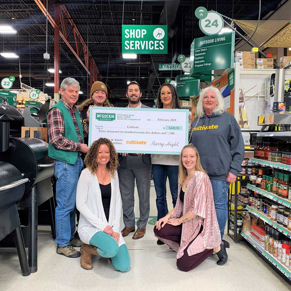 McGuckin donates money to nonprofits like Cultivate, which helps seniors connect with their surrounding communities.