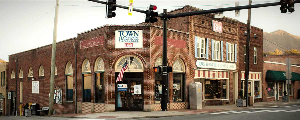 Town Hardware & General Store uses the latest digital marketing tools to promote the old-fashioned, nearly century-old store.
