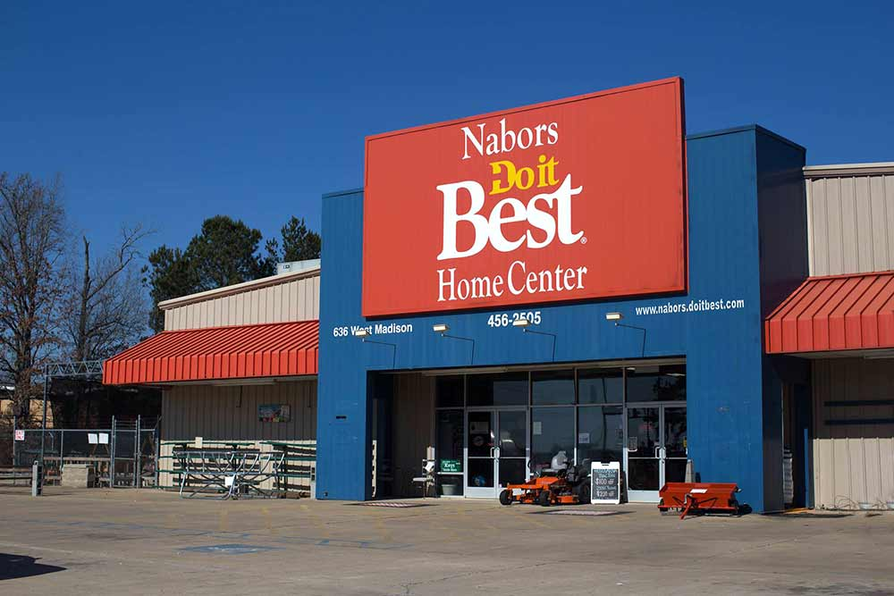Nabors Do it Best Home Center uses Google tools to attract customers to the four-store chain.