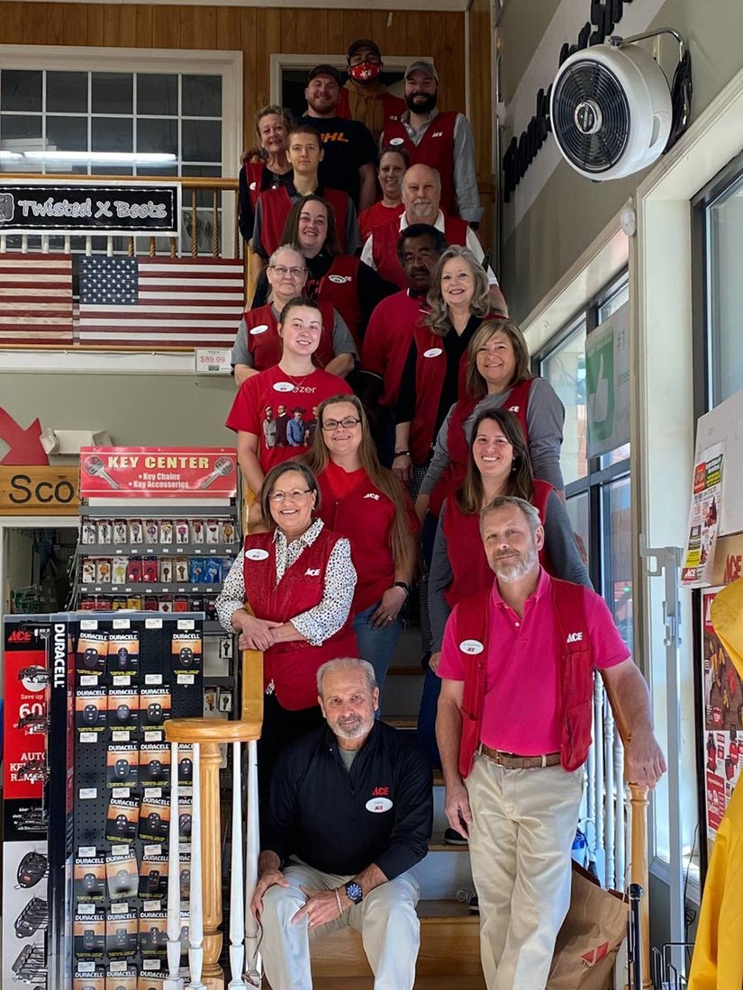 The staff at Southern Home & Garden Ace Hardware is focused on delivering exceptional customer service.