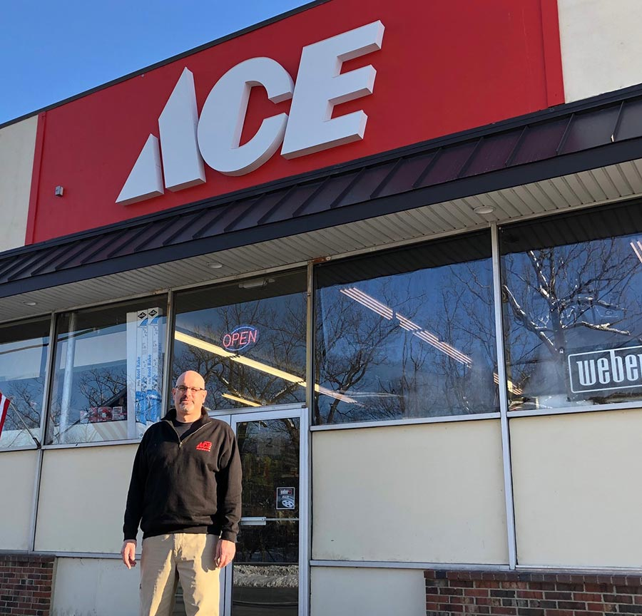 Mitch Epstein is the owner of Anchor Ace Hardware.
