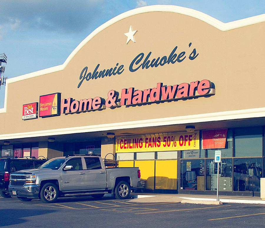 Johnnie Chuoke's Home & Hardware dates back to 1944.
