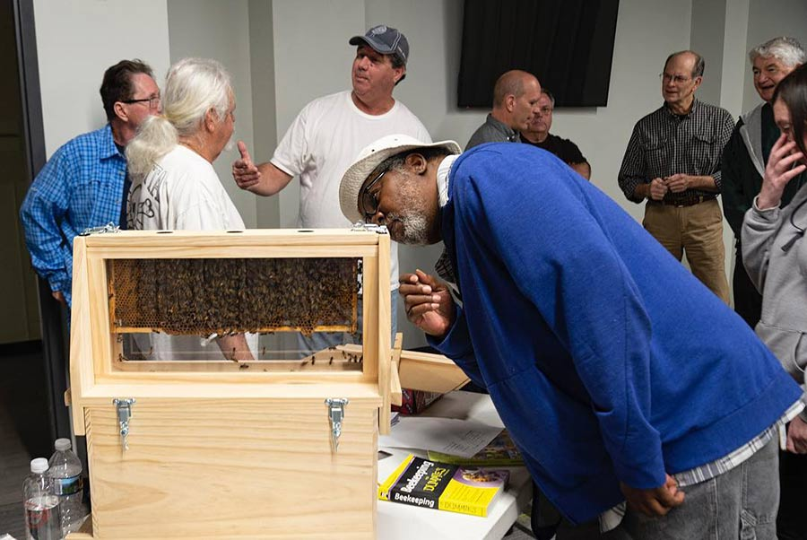 A recent seminar on beekeeping introduced people to the hobby.