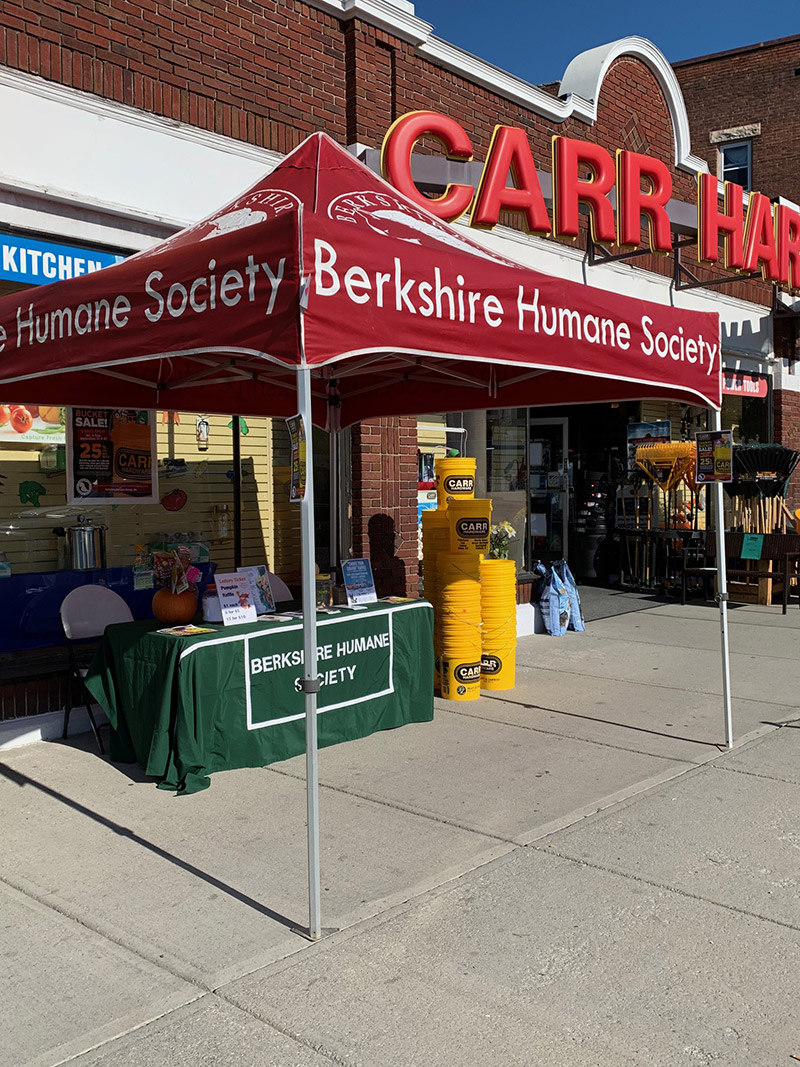 Much of their cause marketing efforts such as bucket sales and round-up campaigns take place in Carr Hardware stores.