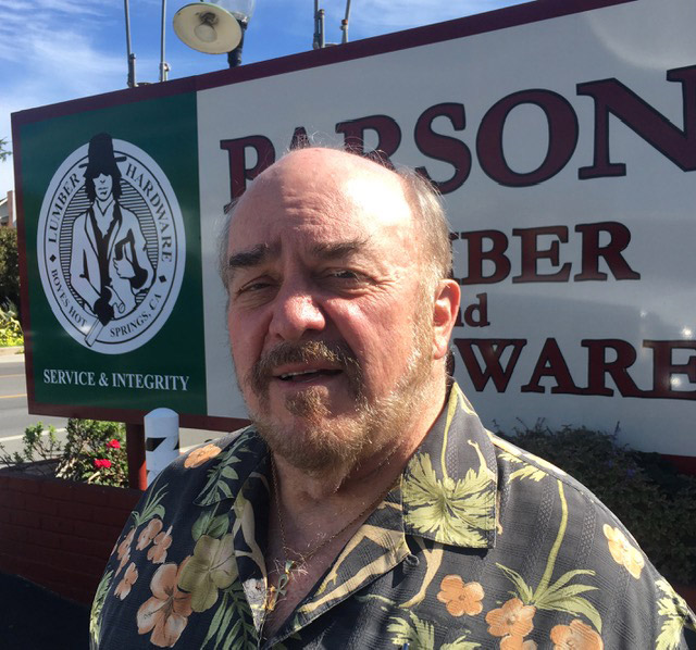 Alan Medina has owned Parsons Lumber & Hardware since 1988.