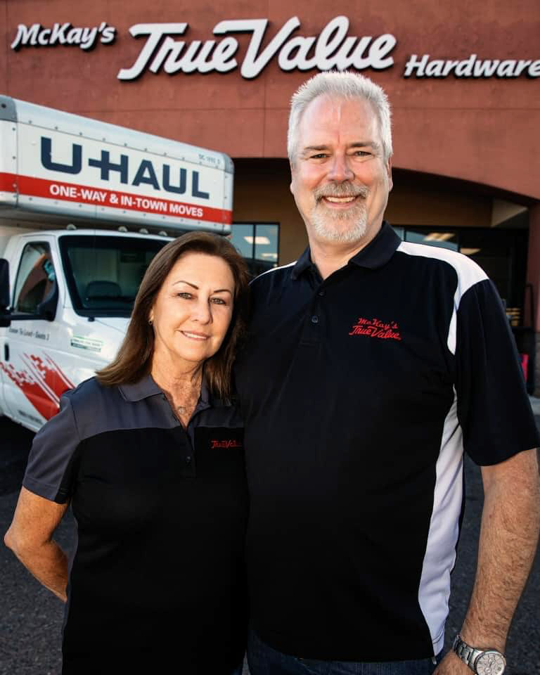 Gary and Susan McKay have owned McKay's True Value since 2018.