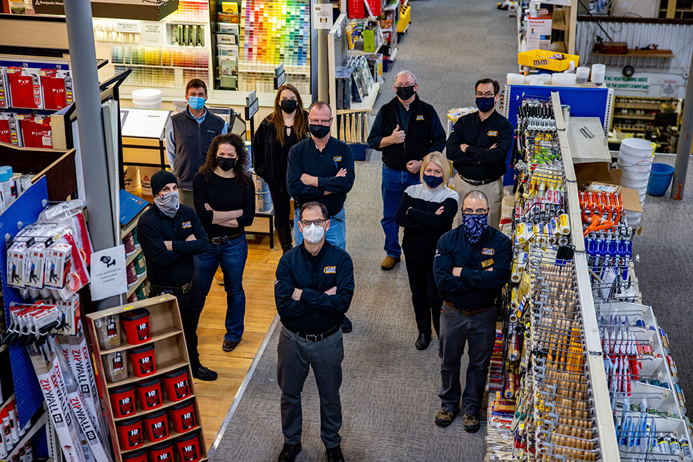 The team at Carr Hardware is engaged and involved with cause marketing efforts.