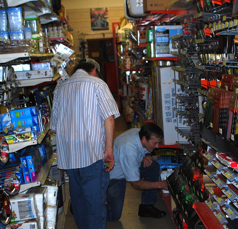 Handyman Hardware has relied on personalized service since Rick Heuser entered the business with his father in 1986.