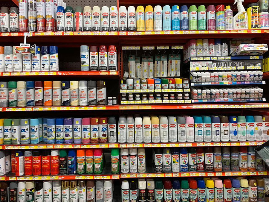 Paint sales have taken off during the pandemic, especially hobby and craft paint.