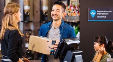 Hardware retailers are signing up to serve as pickup locations for Amazon packages.