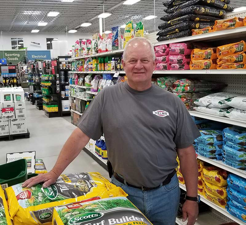 Although lawn and garden is one of the top categories at Helms True Value Hardware, Brad Helms believes there is still lots of room to grow sales in that category.