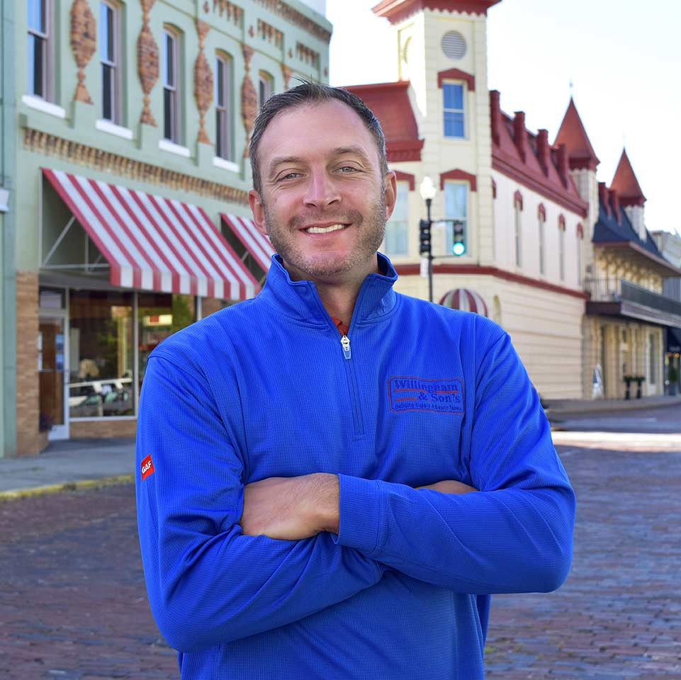 Austin Willingham has learned to embrace retail technology.