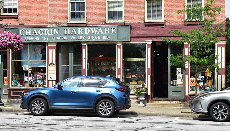Chagrin Hardware & Supply has been in the same location in Chagrin Falls, Ohio, since opening in 1857.