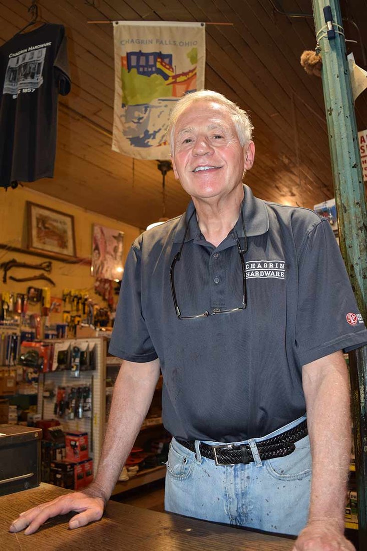Steve Shutts' family has owned Chagrin Hardware & Supply in Chagrin Falls, Ohio, for more than 100 years.