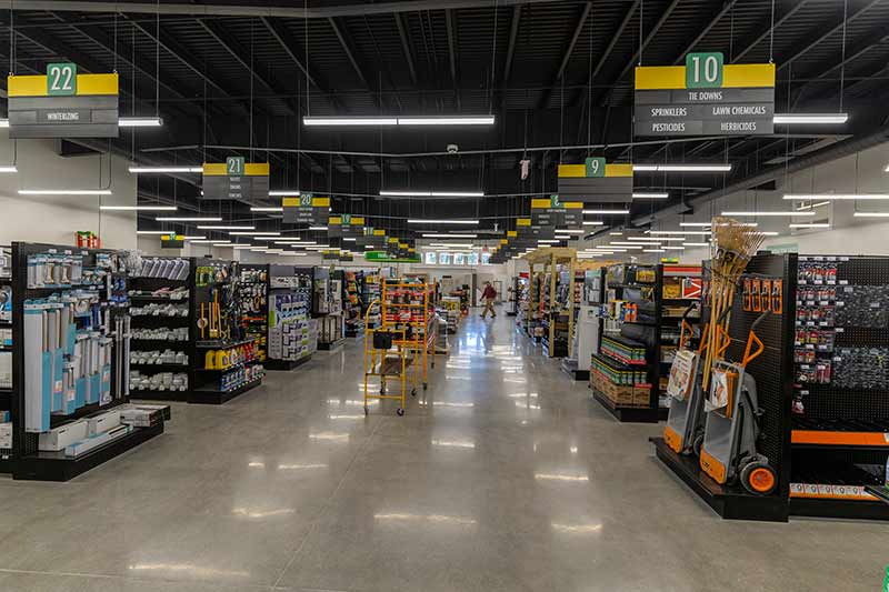 Curtis Lumber's new store in East Greenbush, N.Y., features a 25,500-square-foot sales floor that is 7,500 square feet larger than the store it replaced.