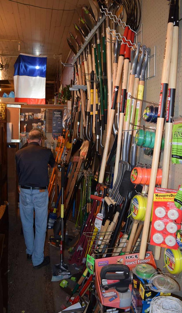 Helping customers find what they need is a long tradition at Chagrin Hardware.