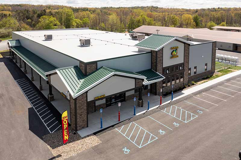 Curtis Lumber held a grand opening for its new store in East Greenbush, N.Y., on June 25.