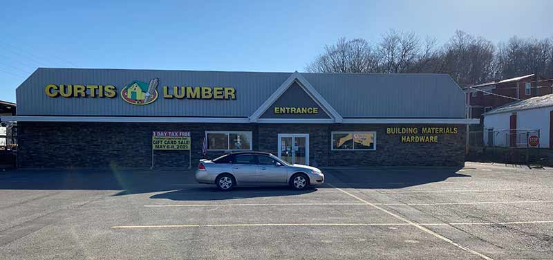 Curtis Lumber's Sidney, N.Y., location reopened in July 2020 after undergoing a major transformation.