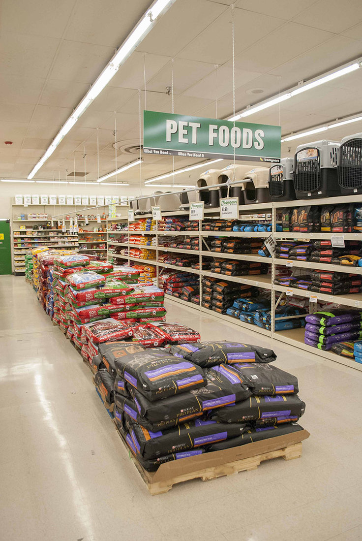 Pet food is one of the major niche categories.