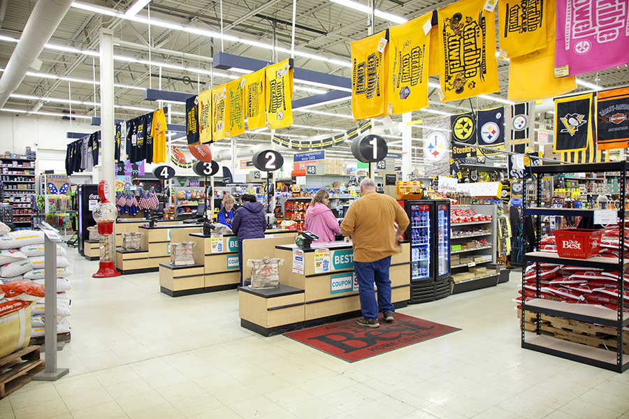 With 35,000 square feet of selling space, Ambridge Do it Best Home Center can meet the needs of its diverse customer base.
