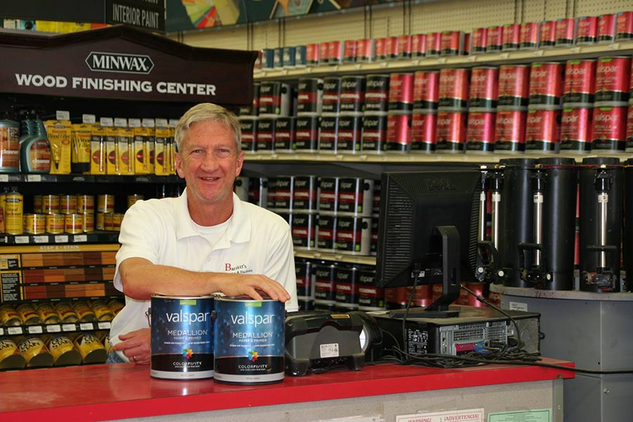 Terrill Bartlett, second-generation owner of Bartlett's Lumber & Hardware, grew up working in the business.