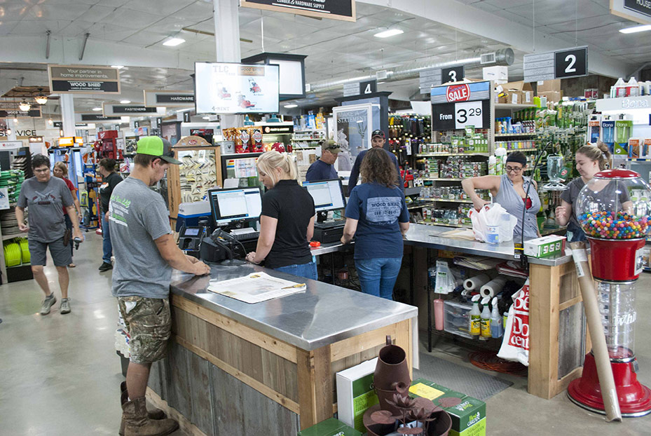 The business, which reopened as Wood Shed Lumber & Hardware in January 2019, was an immediate hit with the community.