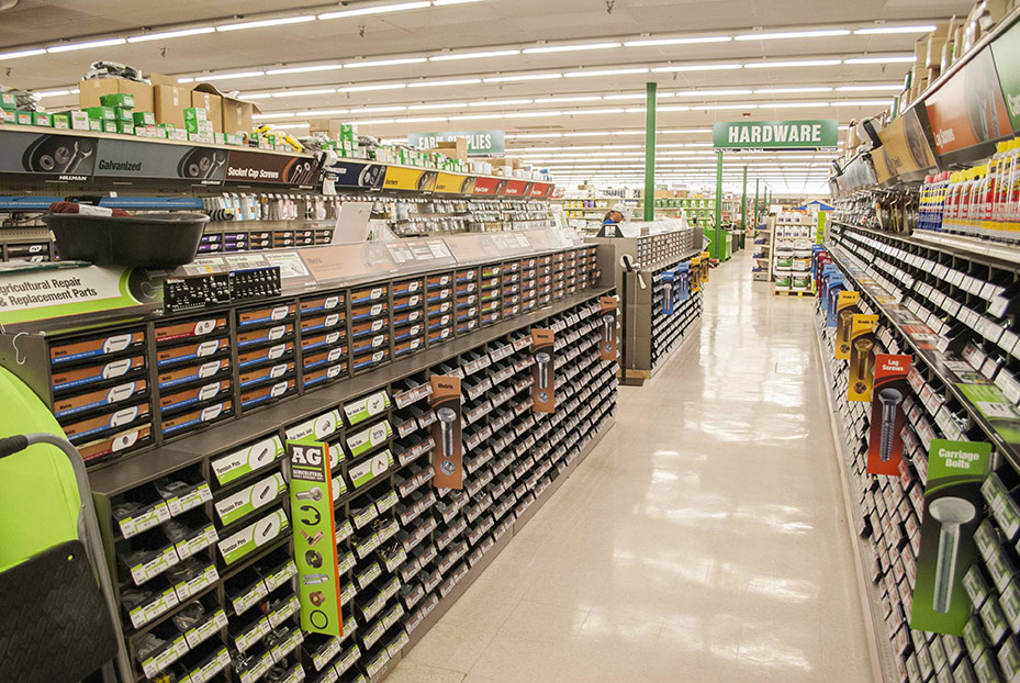 By more than doubling in size, the new Council Bluffs store has been able to expand greatly in categories like hardware.