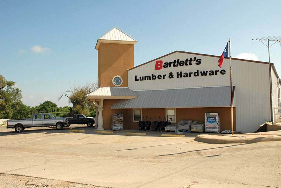 Bartlett's main store is in Canadian, Texas, which is where the company's general office and distribution center are located.