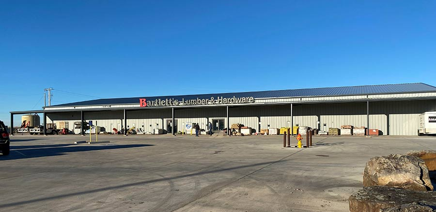 A new location opened in Perryton in January 2020 with double the sales space.