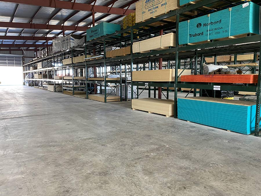 The Spearman store that opened in 2013 was a former car dealership, with the service bay area reconfigured into a 25,000-square-foot drive-thru lumberyard.