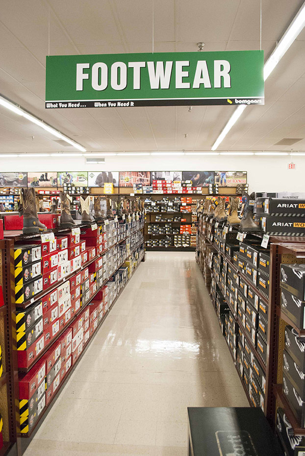 The already massive footwear department has proven so popular it will be undergoing further expansion.