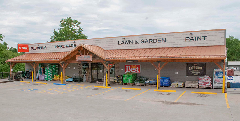 Wood Shed Lumber's new 12,000-square-foot store replaced a tired 2,000-square-foot lumberyard that was on the verge of closing.