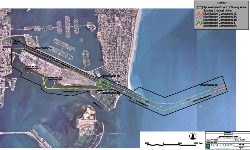 Figure 1. Miami Harbor Deepening Project .